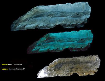 Gypsum - San Juan Baptista, California | NaturesRainbows