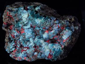 Hauyne, Calcite, Gonnardite, Phlogopite - Badakshan, Afghanistan