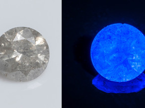 Fluorescence in Diamonds