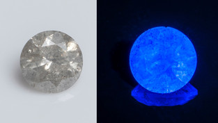 Fluorescence in Diamonds