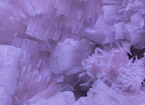 Aragonite on Calcite, w/ Sulfur - Italy