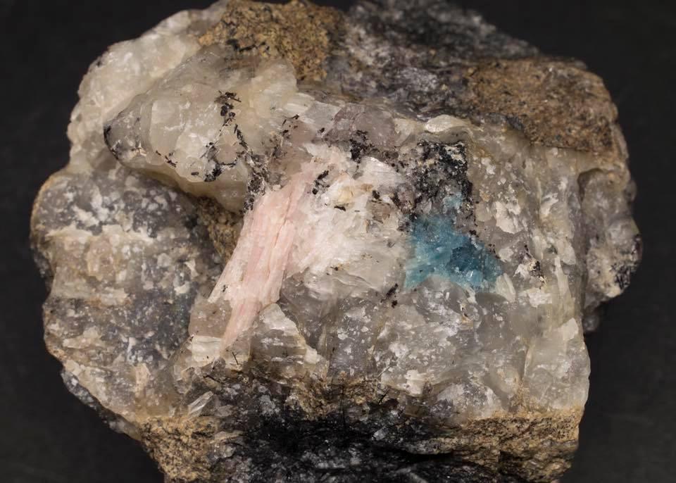 Apatite and Sorensenite - White Ligh