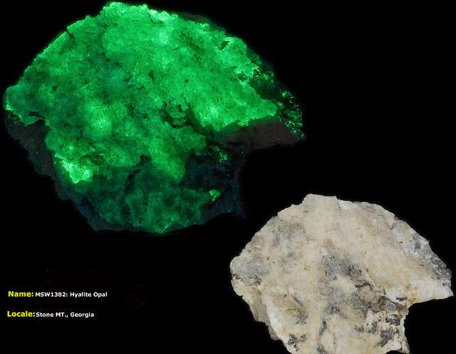 Hyalite Opal - Stone Mt. Georgia