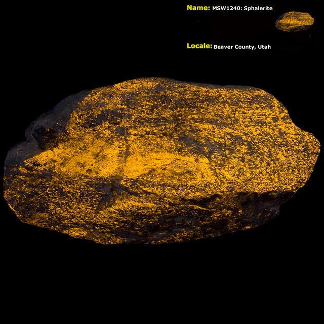 Sphalerite - Beaver Co. UT