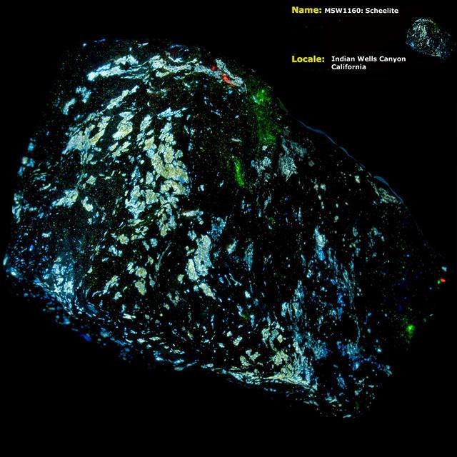Scheelite (w/ a little Hyalite) - Indian Wells Canyon, CA
