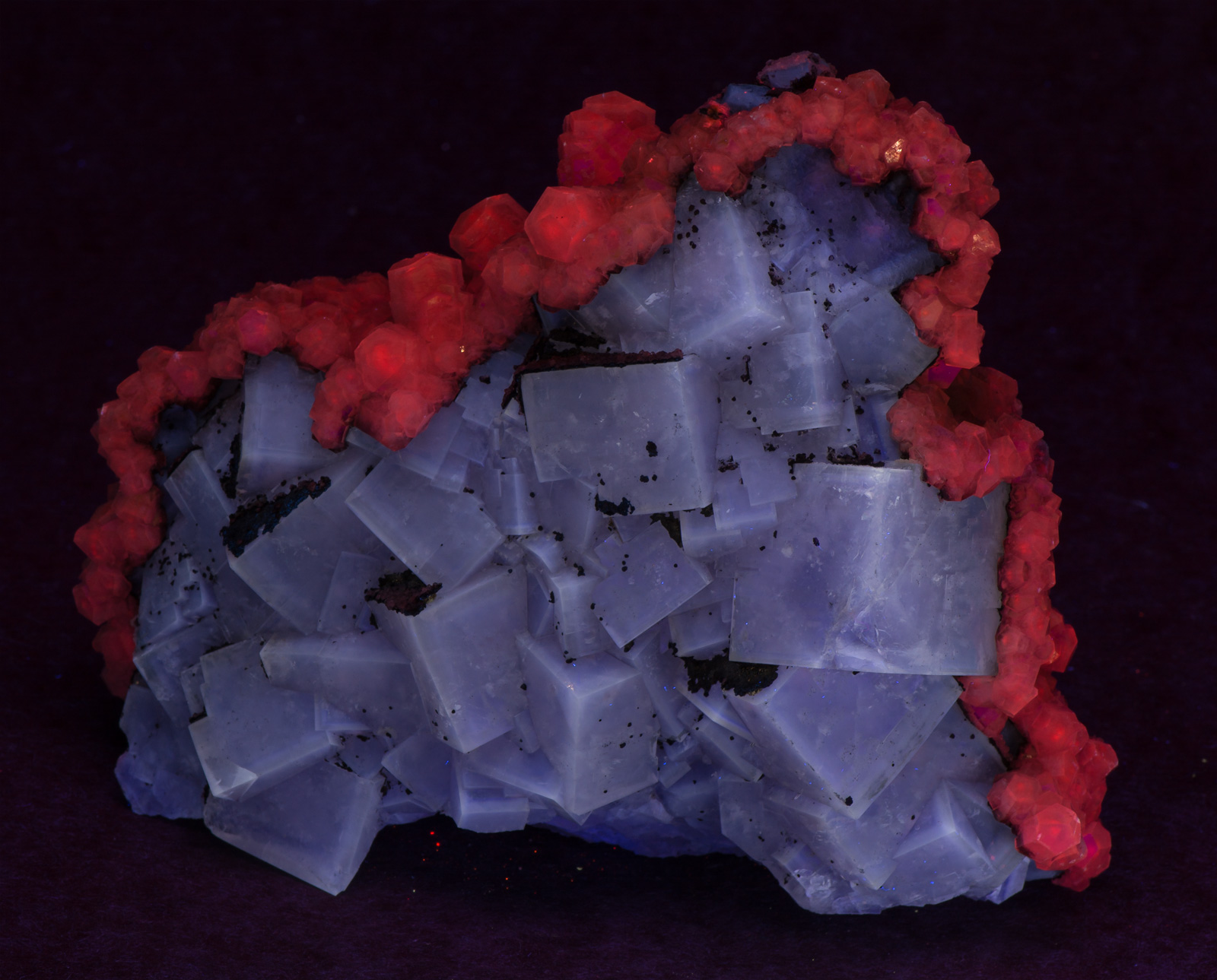 Fluorite Calcite SHORTWAVE