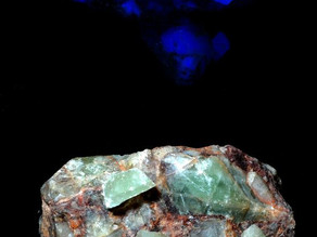 Fluorite - Bishop's Cap, New Mexico