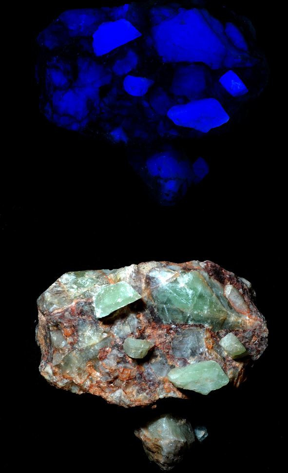 Fluorite - Bishop's Cap, New Mexico - Longwave