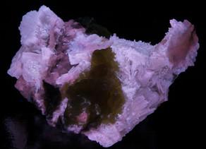 Delicate Aragonite Crystals w/ Sulfur - Italy