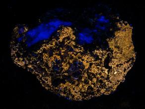 Fluorite on Sphalerite - China