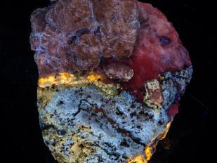 Afghanistan Mix - Afghanite, Phlogopite, Calcite, Scapolite, Albite - Amazing Color