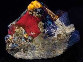 Marialite, Calcite, Phlogopite, Afghanite, +++ - Afghanistan