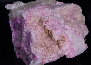 Tugtupite Crystals, Ilimaussaq Complex, Greenland - One of the World's Finest Examples