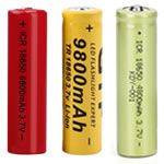 BATTERIES - Selecting the Proper Battery for your 365nm UV Flashlight, Convoy S2, Convoy C8, FyrFly