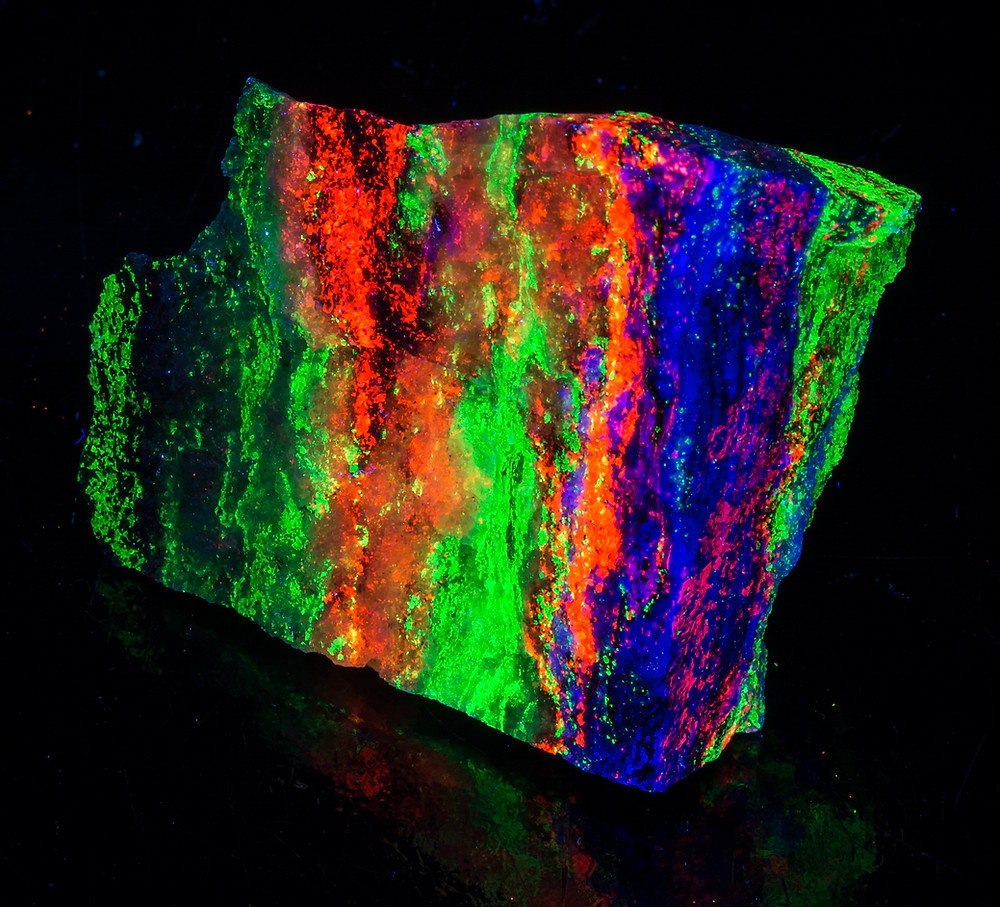 Willemite, Calcite, Fluorite - Garpenberg, Sweden - Fullwave