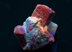 Scapolite Crystals - Badakshan, Afghanistan, the next big locality for fluorescent minerals