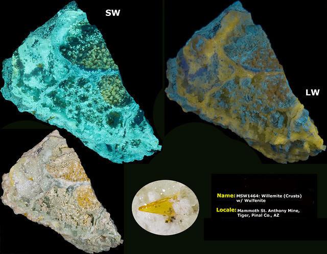 Willemite - Mammoth St. Anthony Mine, Pinal Co. Arizona