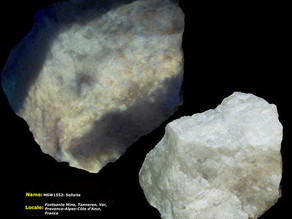 Sellaite - Fontsante Mine, Tanneron, France