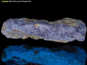 Creedite - Moly Mine, Tonopah, NV