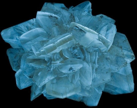 Fluorescent Selenite, Winnepeg, Canada - Phosphorescent
