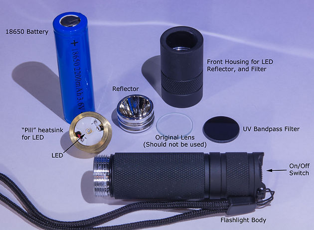 Convoy Type S2+ 365nm Flashlight Torch Review, The Most