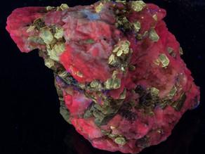 Phlogopite on Calcite - Afghanistan
