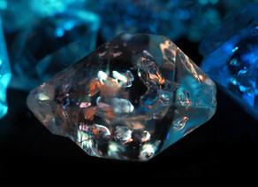 Herkimer Diamond (Petroleum Quartz), Gilgit, Pakistan