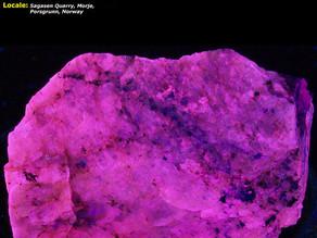 Leucophanite - Sagasen Quarry, Porsgruun, Norway
