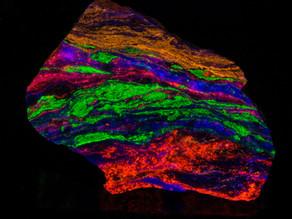 Willemite, Calcite, Wollastonite, Fluorite - Garpenberg Mine, Sweden