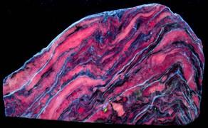Charoite, Aegirine, Microcline, Tinkasite, and Steacyite, MurMurunskii Massif, Russia