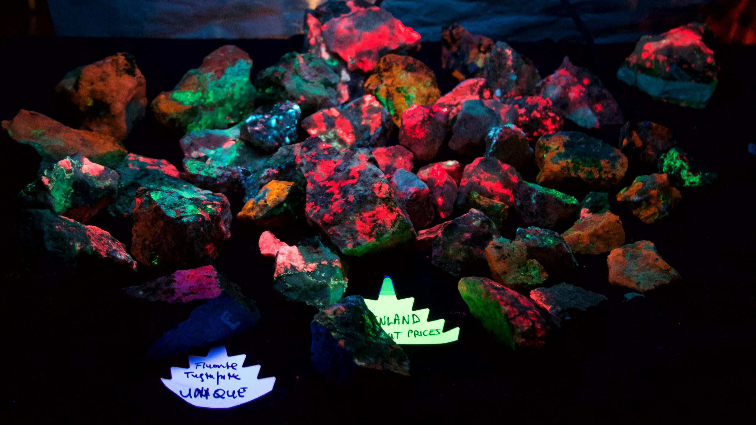 Howie Green's Greenland rocks