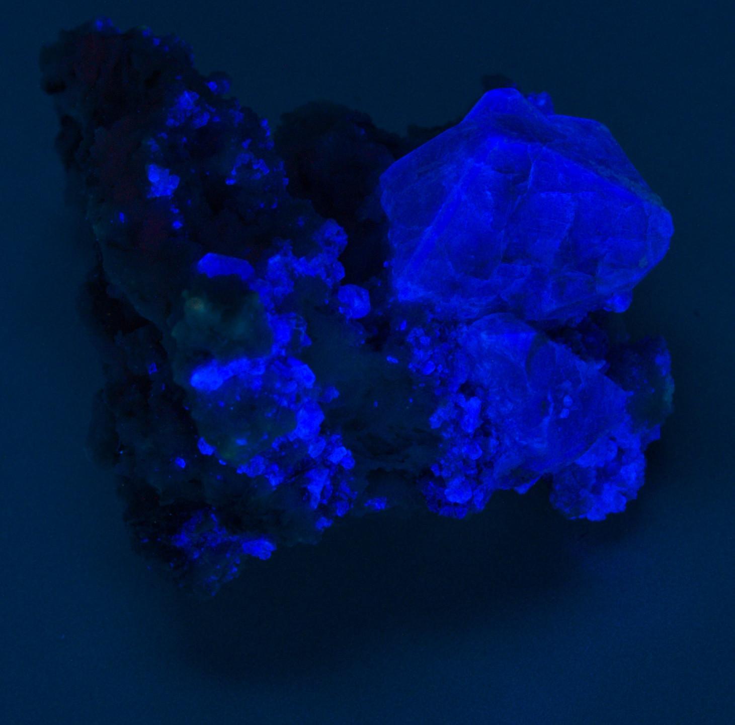 Hydroxylherderite - Shortwave