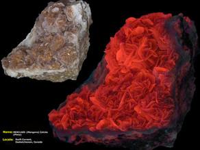 Platy Manganocalcite - Saskatchewan, Canada