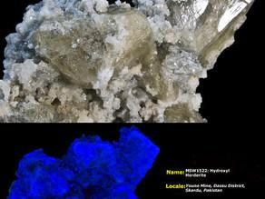 Hydroxylherderite- Yauno Mine, Skardu, Pakistan
