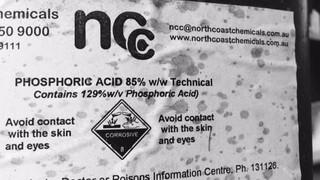 Does your Hoya Shortwave Filter have White Scum Disease?