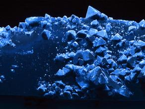 Scheelite Crystals on Quartz - China