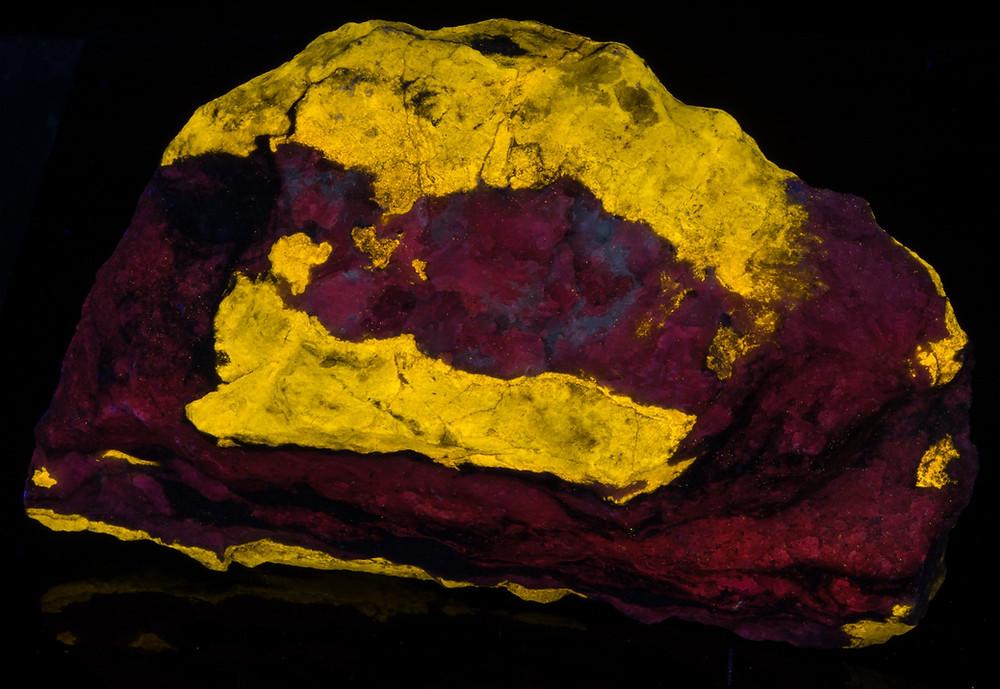 Wollastonite on Calcite - White Knob Quarry, CA