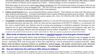 Can I Carry my Battery Pack on a Plane?