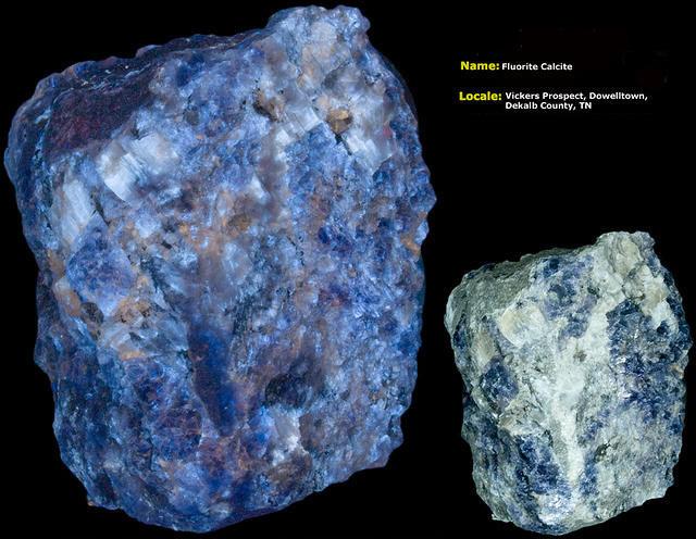 Fluorite - Vicker's Prospect, DeKalb Co., Tennessee
