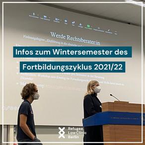 Infos zum Wintersemester des Fortbildungszyklus 2021/22