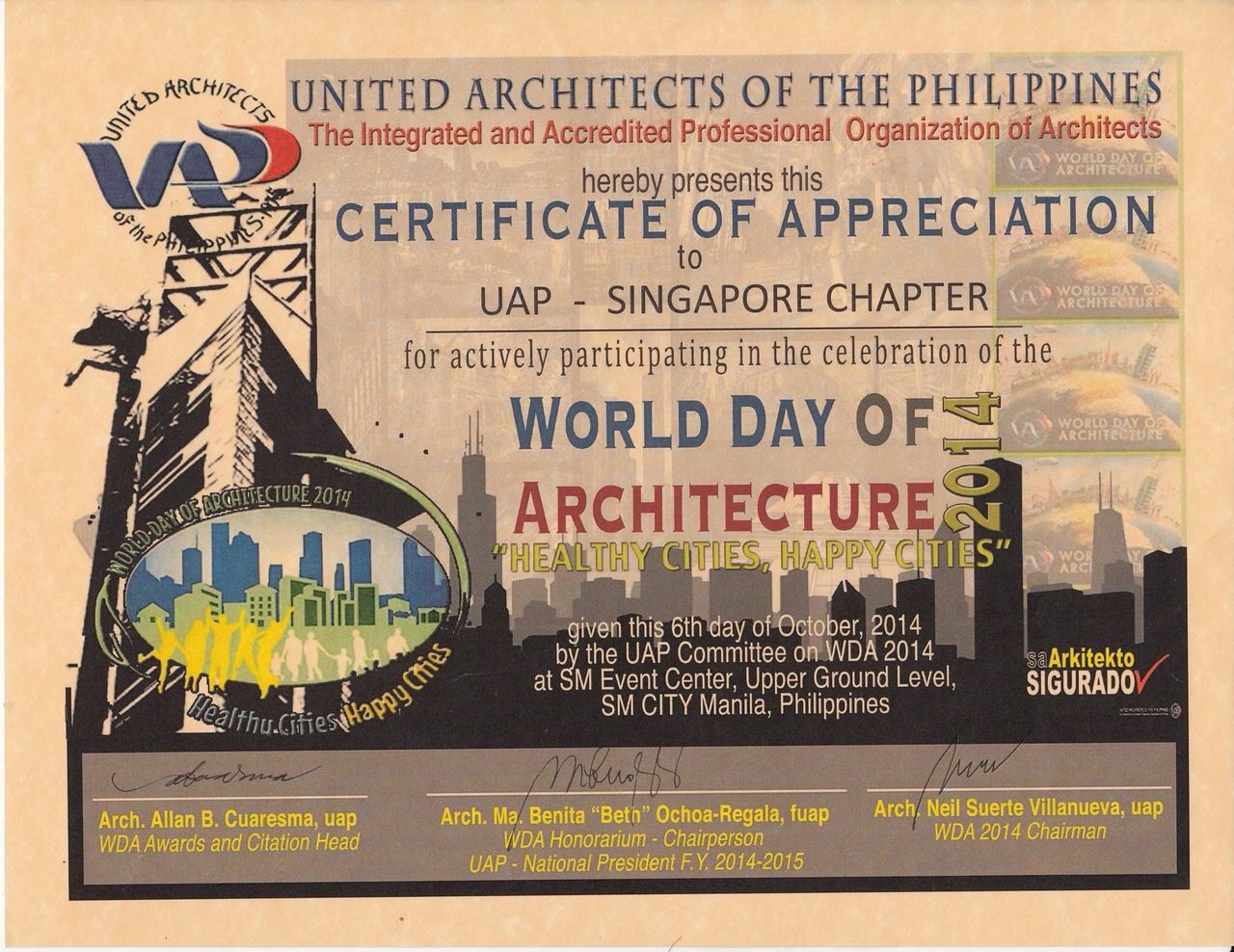 World Day of Architecture