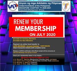 Membership Renewal FY2020-2021