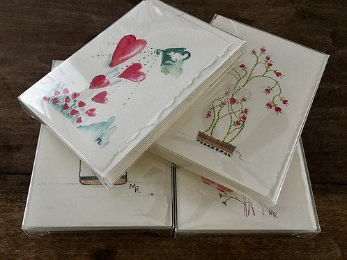 Heart Series 8/Notecards