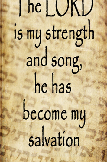 The Lord is My Strength GP