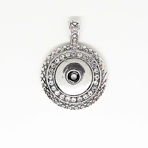 Snap Pendant with Sparkles