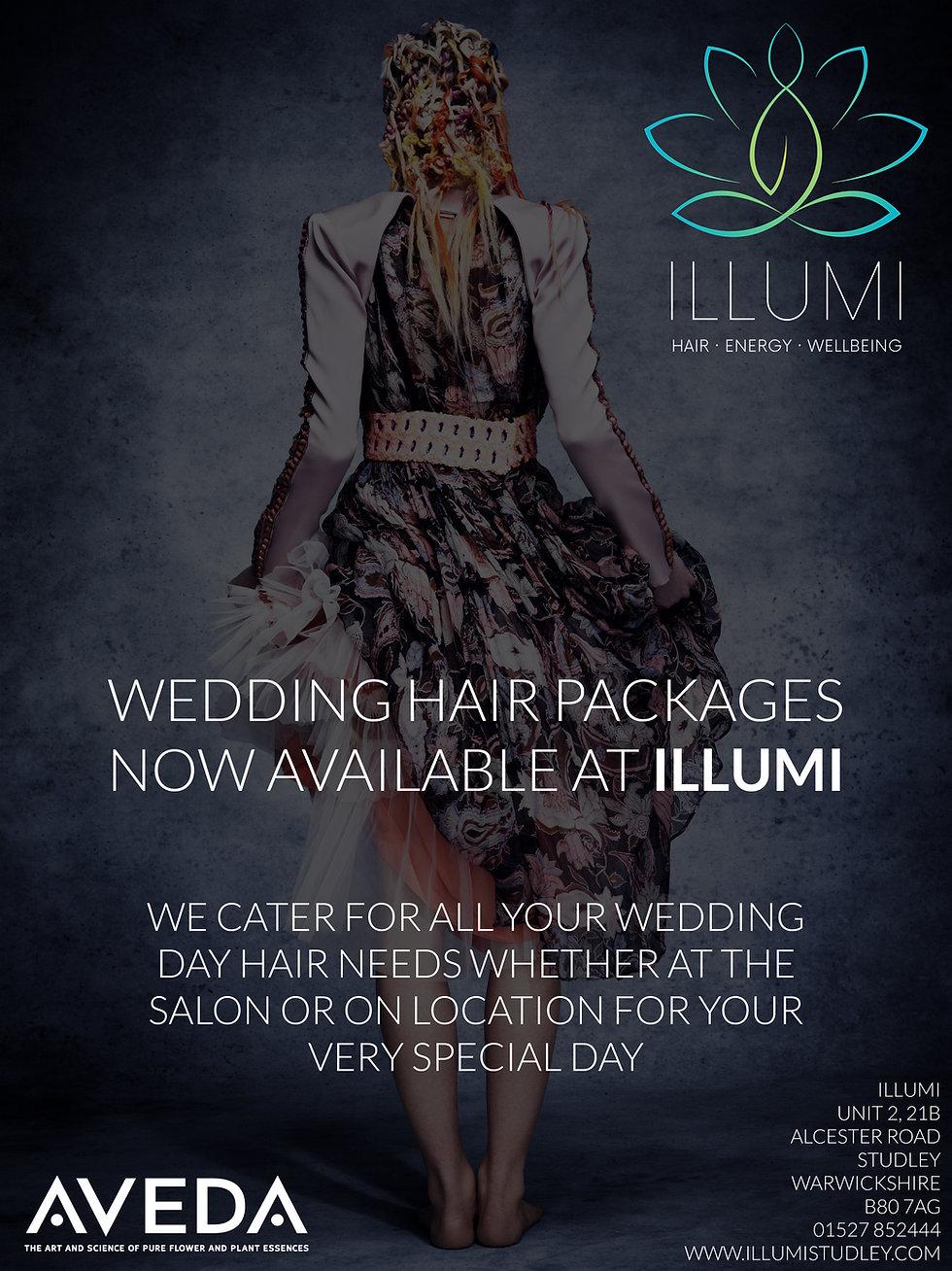 Wedding Hair Packages