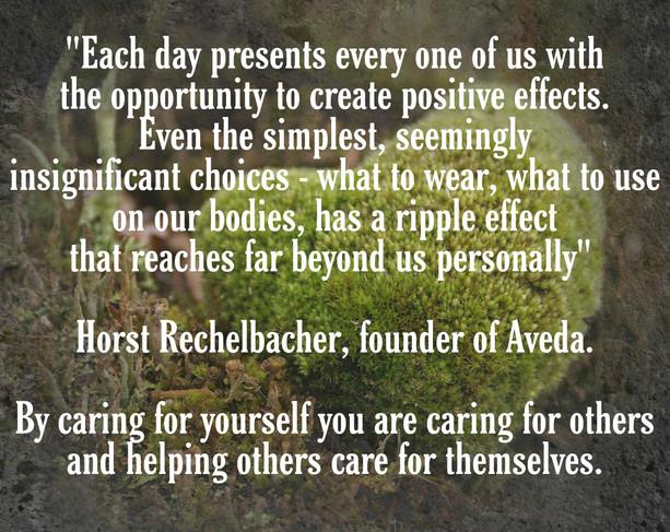 Horst Rechelbacher - founder of Aveda
