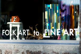 FOLK ART to FINE ART