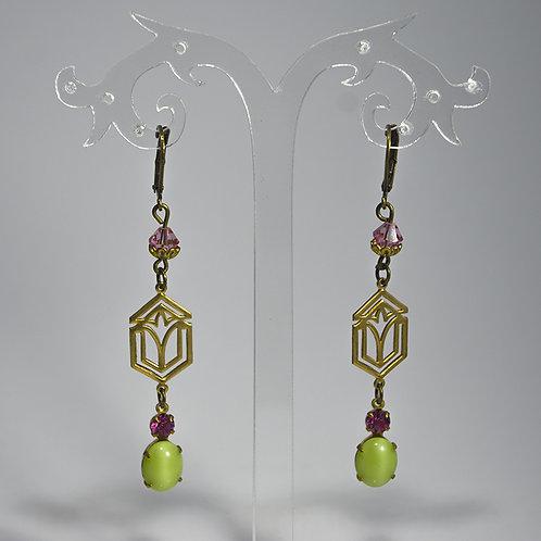 Boucles d'oreilles 1756