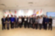 Group photo in NATO headquarters